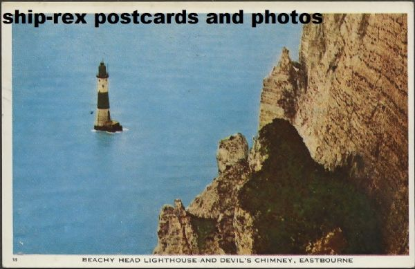 Beachy Head Lighthouse (Sussex) postcard (b)